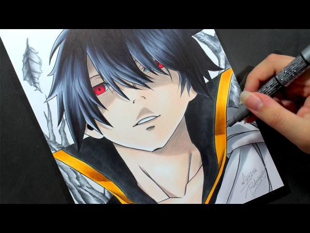 Speed Drawing - Zeref [Fairy Tail]