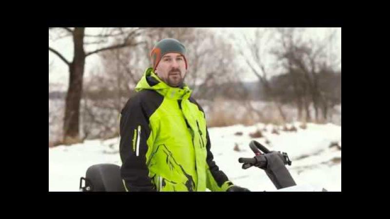 Тест-драйв снегохода Stels Мороз