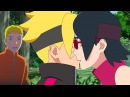 Сарада целует Боруто Love Story BoruSara Наруто