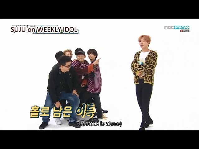 Heechul the normal one || Chaos with Super Junior