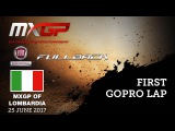 First GoPro Lap with Anthony RODRIGUEZ  FIAT Professional FULLBACK MXGP of Lombardia 2017