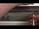 Неотрывный способ частичного вязания горловин без ступенчатого края