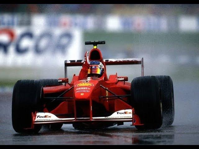 A CRAZY RUBENS BARRICHELLO WINS -GERMANY 2000