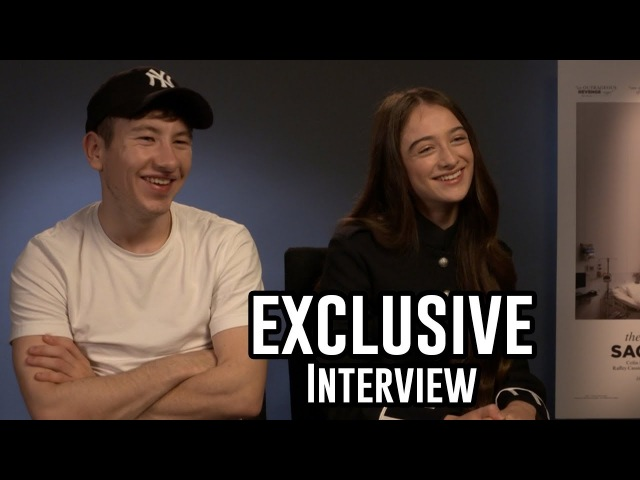 Barry Keoghan Raffey Cassidy - The Killing of a Sacred Deer | Exclusive Interview