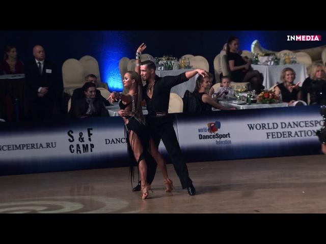 Timur Imametdinov - Nina Bezzubova   R3 Cha-cha-cha   Imperia Cup 2017