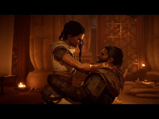 Assassin's Creed Origins. Full HD Game Play.DE. Folge4 Alexandria Frau