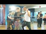 Diana Rodriquez &amp Cristiam Valle - Salsa Cubana - Workshop Video