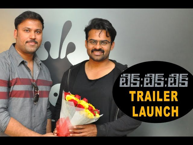 Tik Tik Tik Movie Trailer Launch By Sai Dharam Tej   Jayam Ravi   Nivetha Pethuraj