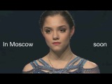 Evgenia Medvedeva, we believe in you! Support for European Figure Skating Championships 2018
