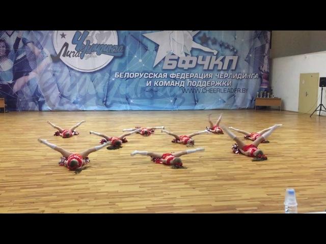 Cheer-Fest 2018, команда Lions Kids, дисциплина данс, 5-7 лет, 1 место