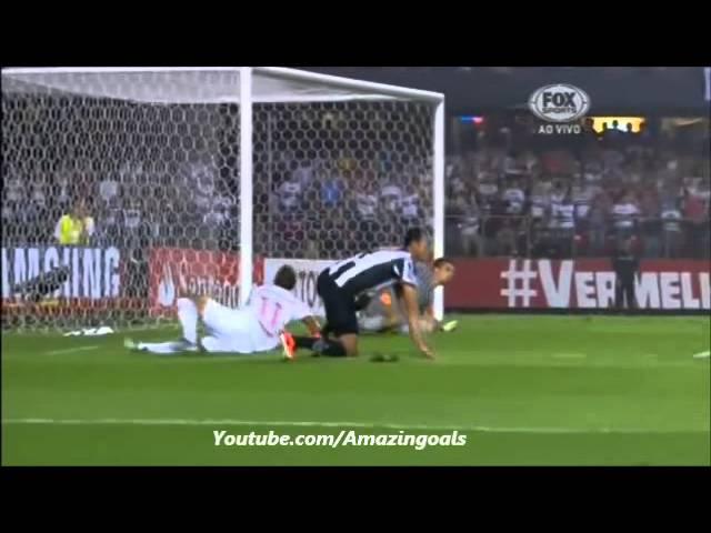 São Paulo 1 x 2 Atlético MG Copa Libertadores 2013