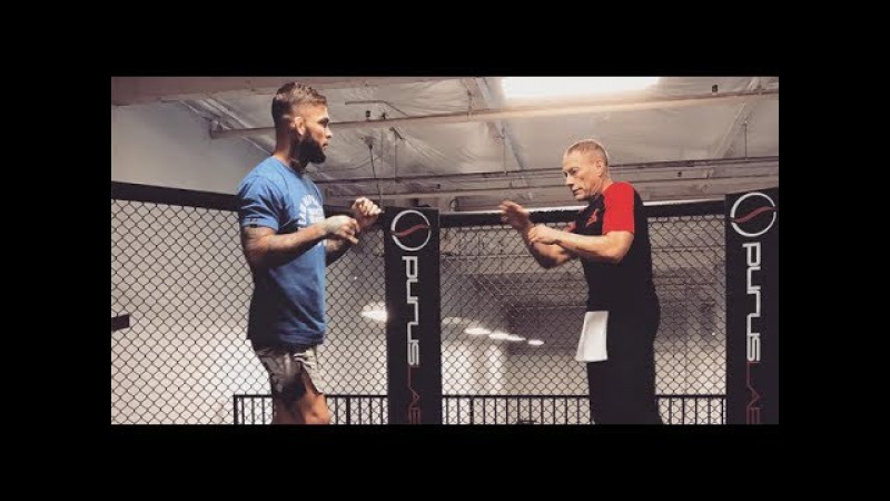 Shocking video Jean Claude Van Damme almost KO Cody Garbrandt during sparring
