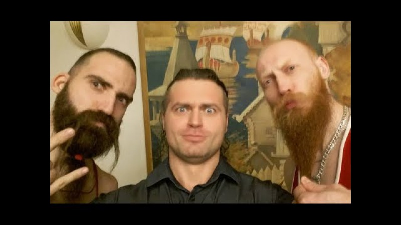 Ух, ты! Бородачи и Денис Борисов. Натуральный бодибилдинг