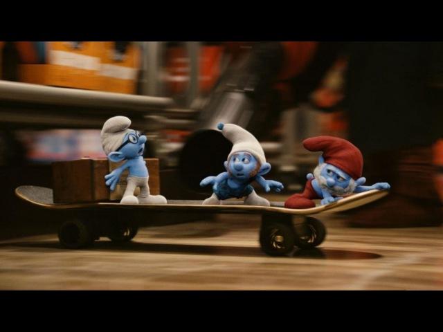 Смурфики / The Smurfs (2011) (Озвученный трейлер)
