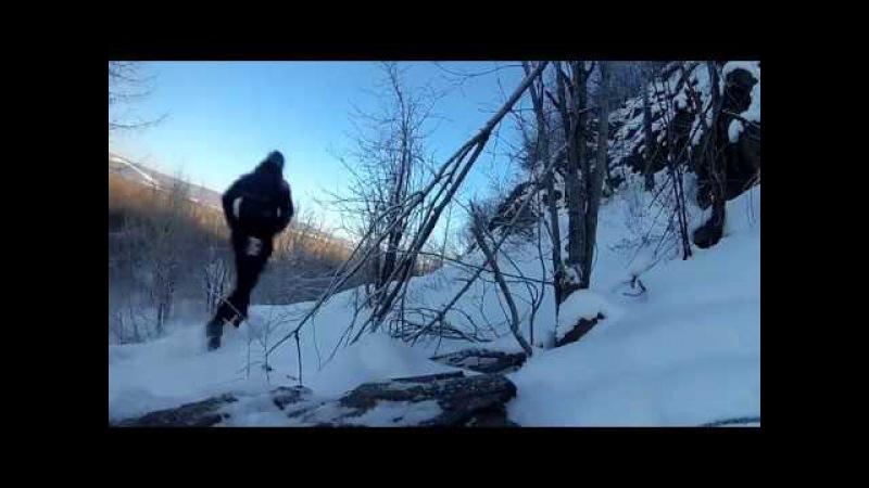 Бег в сильный мороз (-30)
