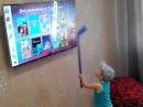 Тест защитного экрана для ЖК телевизора