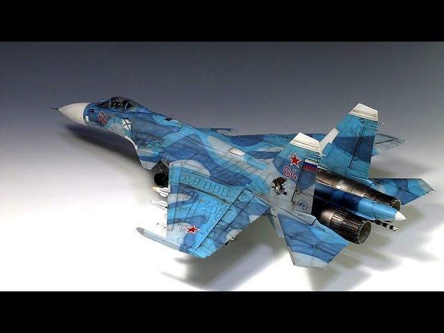 SU-33 FLANKER D 1/48 KINETIC