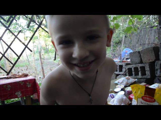 Помощь жителя Минска многодетной маме с сыном инвалидом