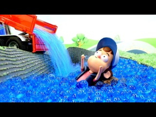 Видео с игрушками Гравити Фолз. Диппер и гигантские Колёса!