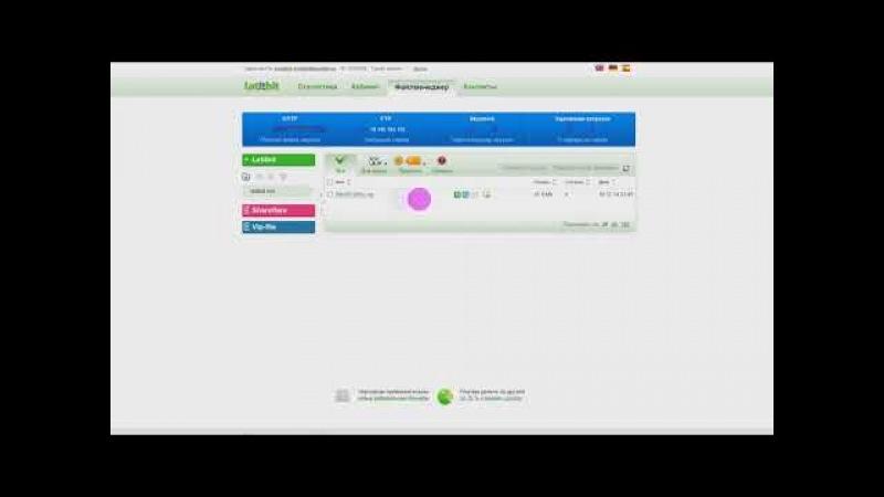 Letitbit - Файлообменник с оплатой за скачивания.