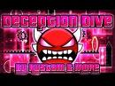 Geometry Dash - Deception Dive 100% GAMEPLAY Online (Rustam more) INSANE DEMON