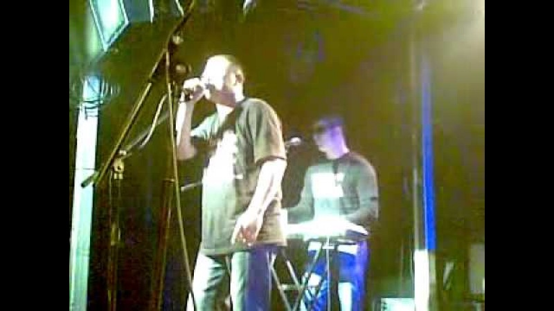 Красная Плесень - Ты Чё, Красавица гр. Фактор - 3 ! Клуб Plan B, Москва, 2010