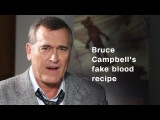 Here's how Bruce Campbell makes fake blood