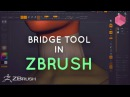 ZBrush Using the Curve Bridge Brush