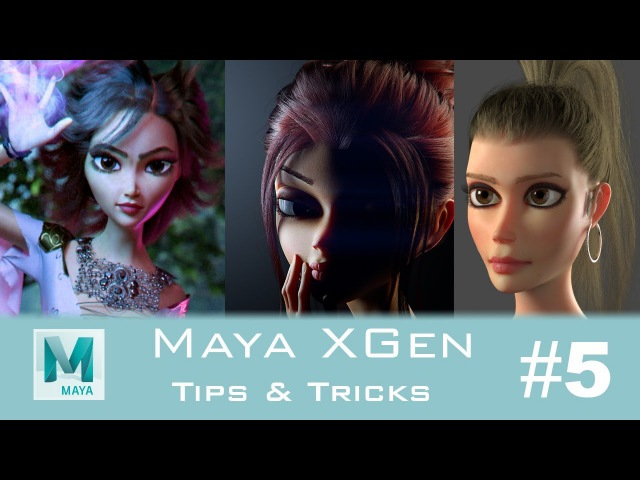 CGLYO - Maya XGen Tips Tricks 5