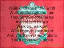 Liverpool football club-anthem-youll never walk alone!