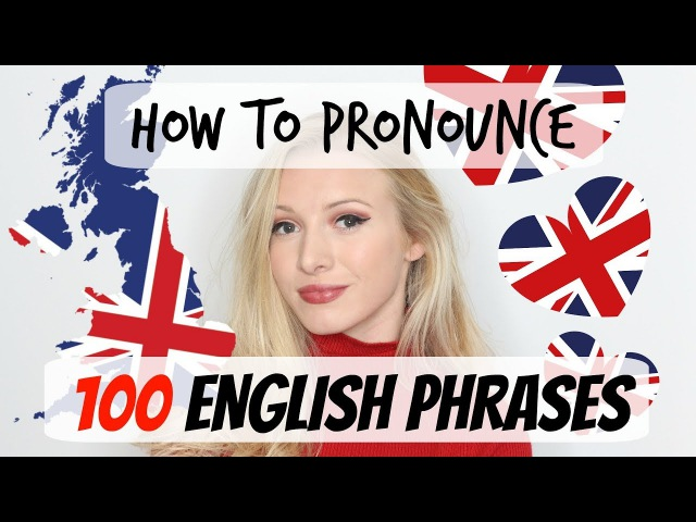 100 English phrases pronunciation and vocabulary lesson Spon