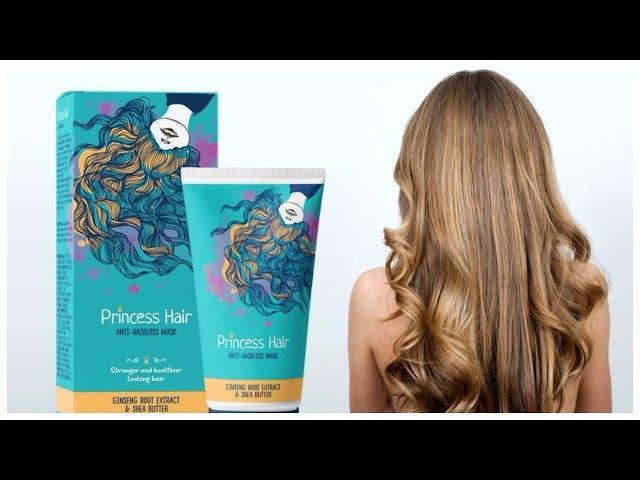 Маска Princess Hair для роста волос обзор / Принцесса хаир против выпадения волос
