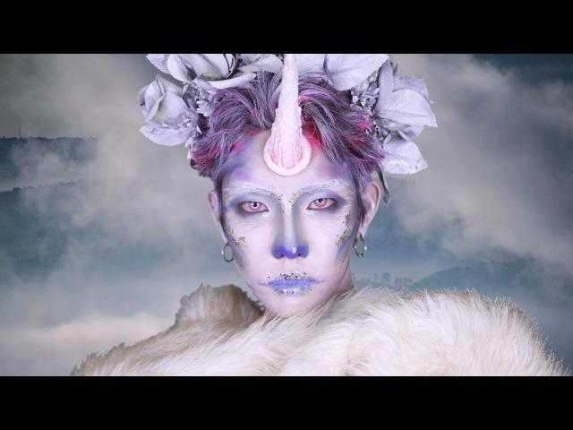 할로윈 스페셜 아트 메이크업 유니콘 분장 halloween art special makeup Unicorn SFX l 서울라이트