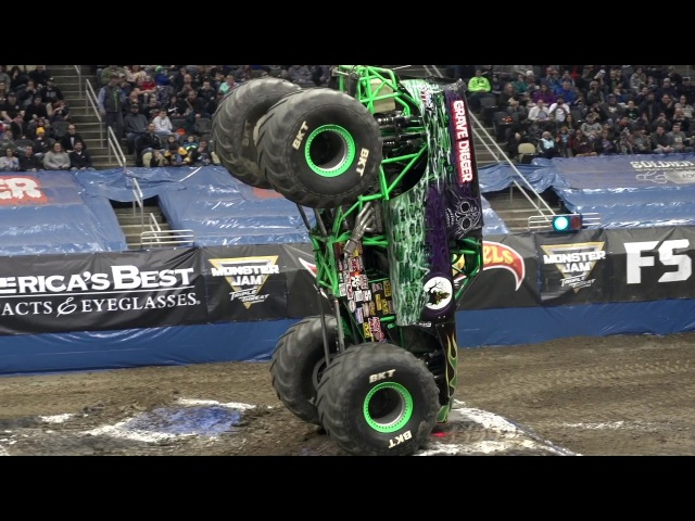 Monster Jam Pittsburgh Highlights - Triple Threat Series Central - Feb 9-11, 2018