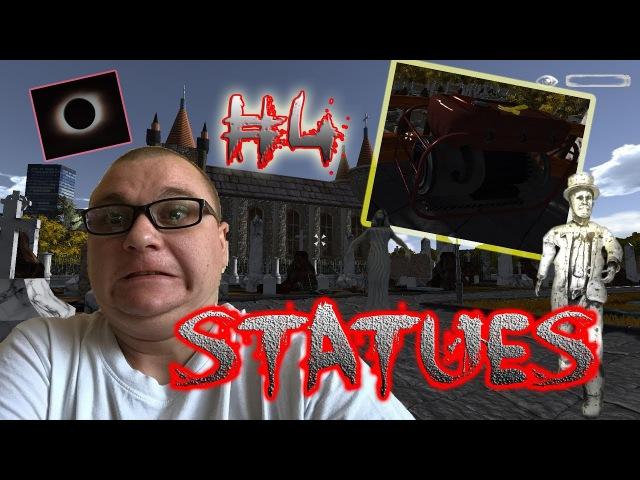 Statues | КЛАДБИЩЕНСКИЙ УЖАС | КАК ЗАПУСТИТЬ ГЕНЕРАТОР 4