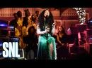 Выступление SZA с треком «The Weekend» на шоу «SNL»