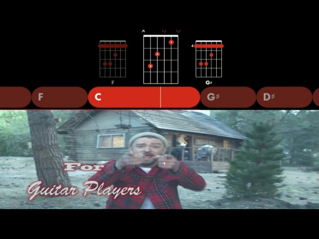 Justin Timberlake Man of the Woods For Guitar