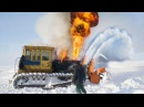 Epic High Deep Snow Removal Mega Machines Plow Blower Train Tractor Truck Bulldozer Excavator Tank