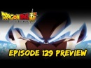 Perfected Ultra Instinct Goku Dragon Ball Super Episode 129 Preview