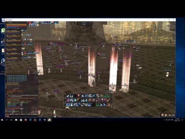 Lineage II - NAVIGATOS Barakiel Fight (bnb)
