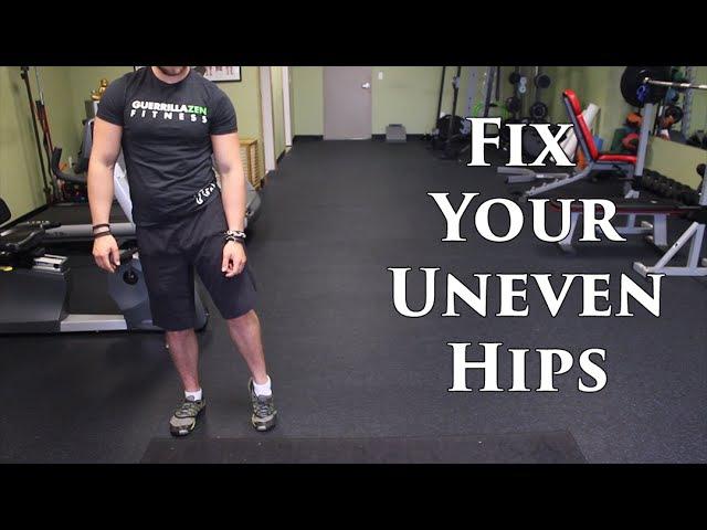 How To Fix Uneven Hips | Lateral Pelvic Tilt OR Leg Length Discrepancy?