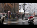 Christmas in New York City 2017 When it snows 4K