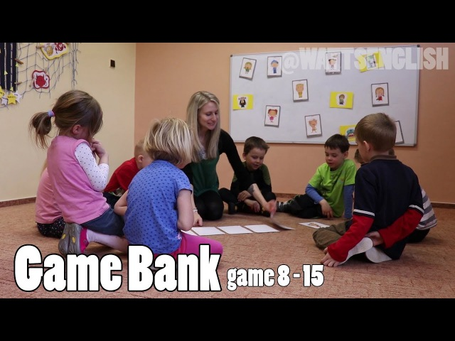 Game bank | game 8 - 15 | WattsEnglish