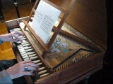 Henry Purcell Three little pieces, played on replica 1677 Epinette