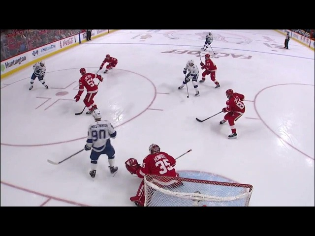 Kucherov picks up 6th goal of season against Red Wings