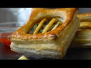 Puff Pastry dough , plus many ideas for different puff pastry shapes
