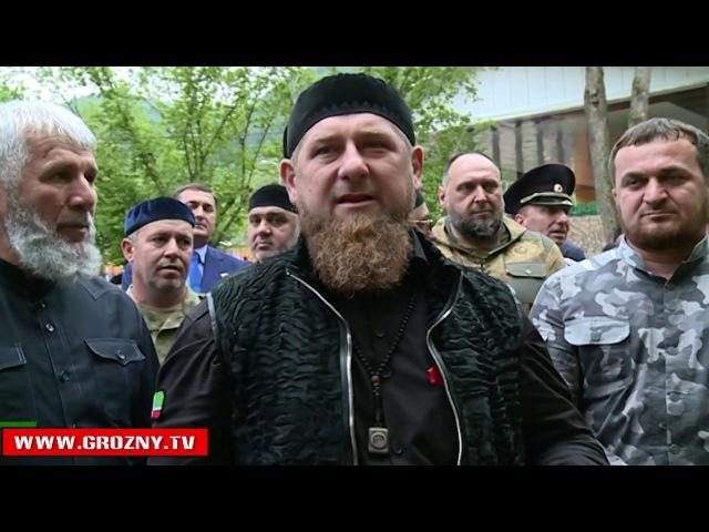 Рамзан Кадыров принял участие в открытии детского спортивно-оздоровительного лагеря «Светлячок»