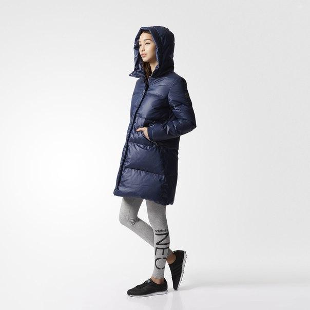 Утепленное пальто A-Line