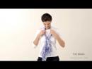 12 способів зав'язати шарф