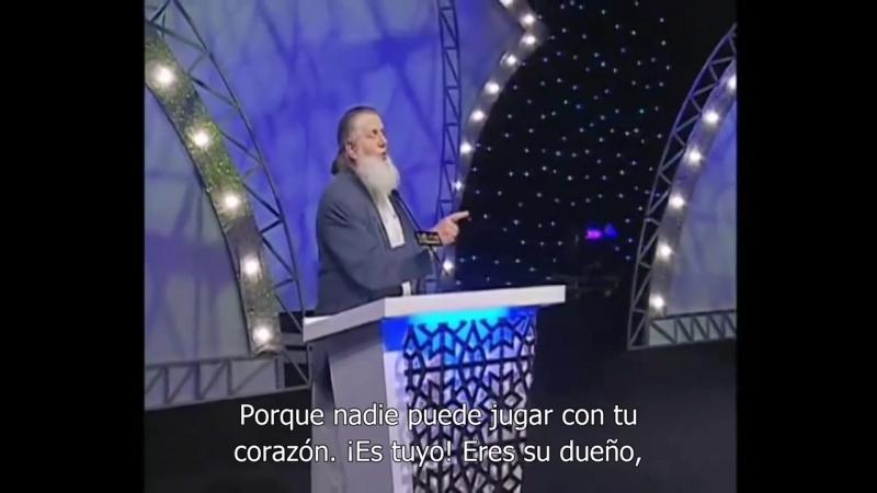 Un cristiano rompió a llorar después de que Yusuf Estes le contestó su pregunta español subtítulos[via torchbrowser.com]